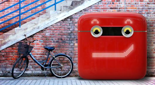 Partner show coca cola vending and recycling machine 1