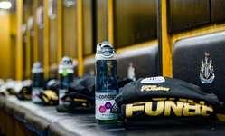 Browse partner 20190326 nufc dressing room water bottle
