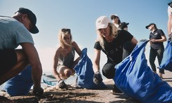 Browse partner breitling and ocean conservancy beach clean up bali may 10 1
