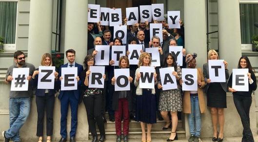 Partner show foto ambasciata zero waste