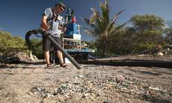 Browse partner 3 this giant vacuum is designed toclean microplastic
