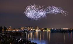 Browse partner dezeen awards 2019 design longlist drone swarm hero