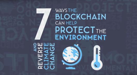 Partner show 7 ways blockchain can protent environment mitigate climate change